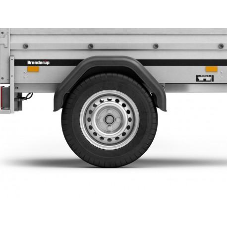 Brenderup 1150 SUB 500 kg ankippbar